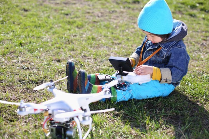 Image result for kids with drone