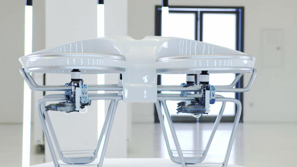 how to build a gas powered drone